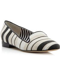 Pied A Terre Godda Stripe Slipper Shoes - Lyst