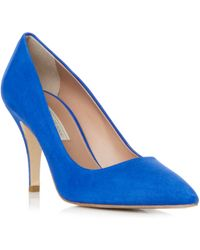 Pied a Terre | Aba Pointed Single Sole Court Shoes | Lyst