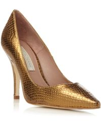 Pied a Terre | Amana Pointed Courts Shoes | Lyst