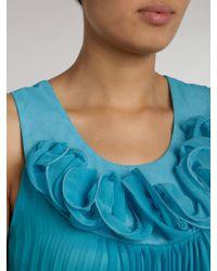 Sodamix - Pleated Detail Dress - Lyst
