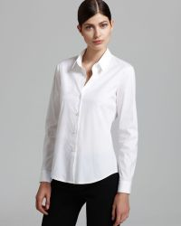 Theory Top - Larissa 2 Luxe - Lyst
