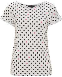 Therapy Polka Dot Tshirt black - Lyst