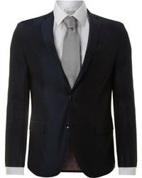 Without Prejudice Slim Fit Fine Striped Suit - Lyst