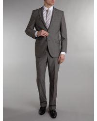 Without Prejudice End On End Textured Peak Lapel Suit - Lyst