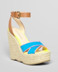 Enzo Angiolini - Wedges Nomas Criss Cross Espadrille - Lyst