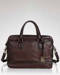 Frye - James Work Leather Briefcase - Lyst