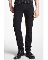 Rag & Bone Rb15x Slim Straight Leg Pants - Lyst