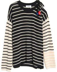Sonia by Sonia Rykiel - Multi Stripe Knit Top - Lyst