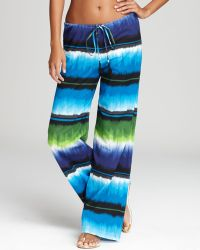 Tommy Bahama - Hazy Ikat Stripe Coverup Trousers - Lyst