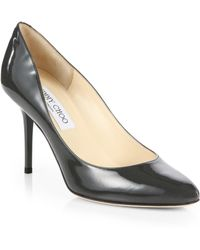Jimmy Choo Gilbert Patent Leather Pumps - Lyst