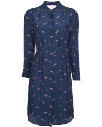 Boy by Band of Outsiders Aztec Triangle Shirtdress - Lyst