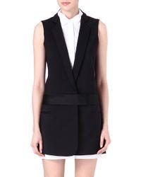 Victoria, Victoria Beckham Tuxedo Dress - Lyst