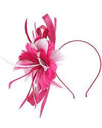 Alexon - Pink Swirl Flower Fascinator - Lyst