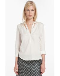 Maje Dalia Cotton Shirt - Lyst