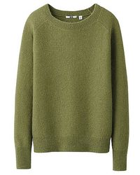 Uniqlo Mohair Blended Sweater - Lyst