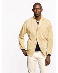 J.Crew Private White Vc Worksuit Jacket - Lyst