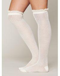 Free People Rumi Tall Sock - Lyst