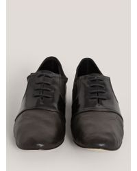 Repetto - Mixed Leather Lace-up Shoes - Lyst