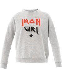 Rika - Marlon Iron Girl Sweatshirt - Lyst