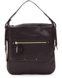 10 Crosby Derek Lam Crosby Small Leather Shoulder Bag - Lyst