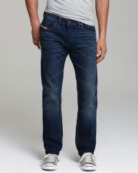 Diesel Jeans Belther Slim Straight Fit In - Lyst