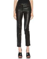 Givenchy Leather Pant - Lyst