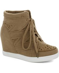 ModCloth - Poetry Club President Wedge - Lyst