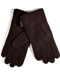 Paul Smith Suede Gloves - Lyst