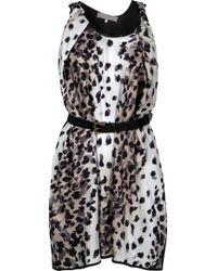 Preen By Thornton Bregazzi Coil Leopard Printed Dress - Lyst