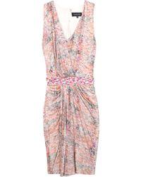 Saloni Sara Shibori Dress - Lyst