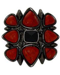 House Of Harlow 1960 Kaleidoscope Fingerpick Ring - Lyst
