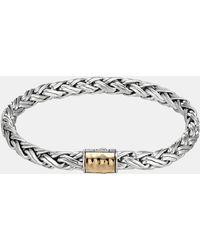 John Hardy Classic Chain Kepang Small Braided Bracelet - Lyst