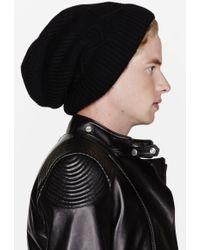 Kris Van Assche - Black Knit Beanie - Lyst