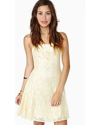 Nasty Gal Lost in Emotion Lace Dress - Lyst