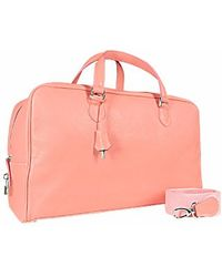 Buti - Pink Soft Calf Leather Large Travel Bag - Lyst