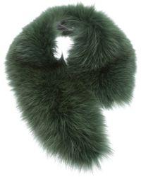 Jo No Fui - Short Fur Stole - Lyst