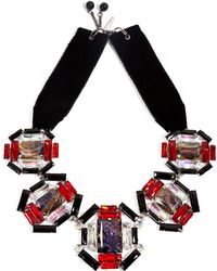 Moutoncollet - Illusion Necklace in Ruby - Lyst