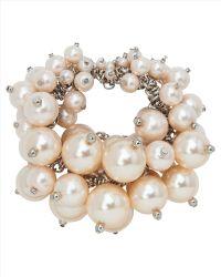 Jaeger Pearl Cluster Bracelet