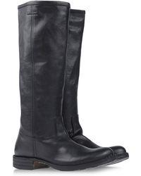 Fiorentini + Baker Black Boots - Lyst