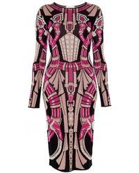 Temperley London Charm Intarsia Dress - Lyst