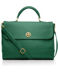 Tory Burch - Robinson Top Handle Satchel - Lyst