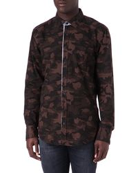 Hugo Boss Camo Shirt - Lyst