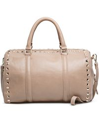 Mango Touch Studded Bowling Bag - Lyst