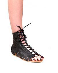N.y.l.a. - Liese Leather Gladiator Sandal - Lyst