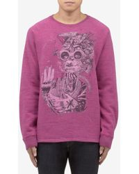 Marc Jacobs | 'goggle' Print Cotton Sweater | Lyst