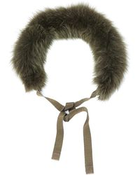 Maxmara S Max Uniion Fur Collar - Lyst