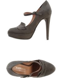 Nadia Grilli - Moccasins With Heel - Lyst