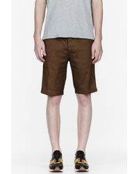 Diesel Olive Chi_regs_sho Shorts - Lyst