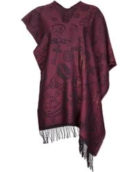 Vivienne Westwood - Skull and Chain Poncho - Lyst