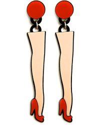 Yazbukey - Legs Earrings - Lyst